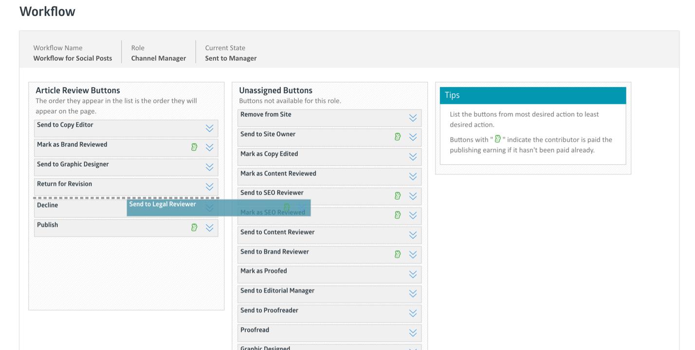 Skyword Workflow Portal